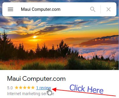 Review Maui Computer.com